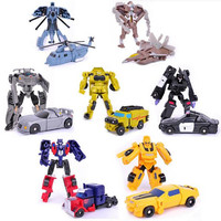 Transformation 7style Kids Classic Robot Cars Toys Action & Toy Figures Birthday Christmas Gift For Children