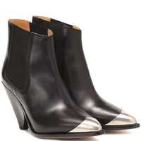 Lemsey leather ankle boots