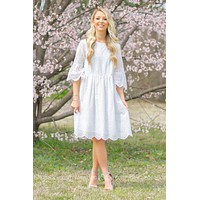 Madison Sweet Prairie Embroidered  Dress