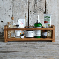 Apothecary Caddy made of Reclaimed Cypress
