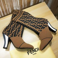Fendi Women Heels Shoes Boots
