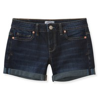 Aeropostale  NEW! Dark Wash Denim Midi Shorts