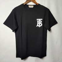 """""""BURBERRY"""" Lover Unisex Simple Casual Fashion Letter Print Short Sleeve T-shirt Top Tee"""