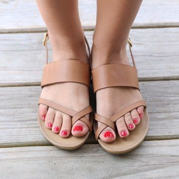 Chinese Laundry Tan Sandals