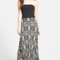Women's FELICITY & COCO 'Stripe of Samantha' Strapless Gown (Nordstrom Exclusive)