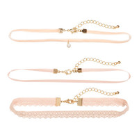 H&M 3-pack Chokers $9.99