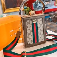 GUCCI Fashionable Women's Mini Mobile Phone Bag Crossbody Bag