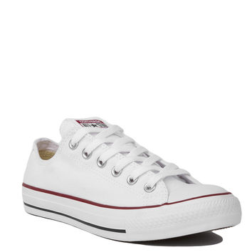 Converse Chuck Taylor All Star Classic Low Top Oxford Sneakers in Optic White