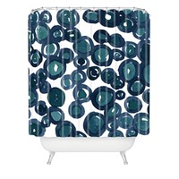 Social Proper Saltwater Shower Curtain
