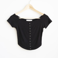 Priscilla Shoulder Top
