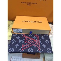 LV Louis Vuitton DAMIER GRAPHITE CANVAS MULTIPLE WALLET