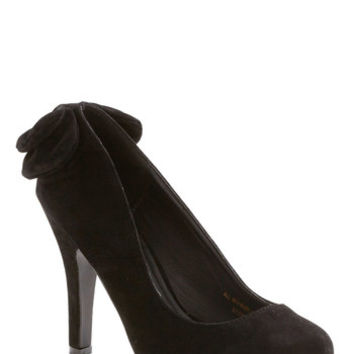 ModCloth Standout Ovation Heel in Black