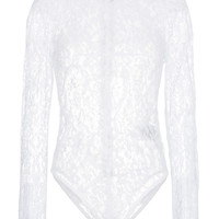 Givenchy Fitted Lace Bodysuit - Farfetch