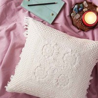 Plum & Bow Sadie Crochet Pillow