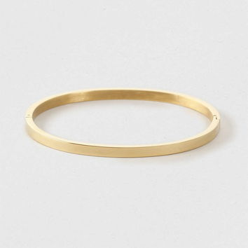 Thin Stainless Steel Bangle*