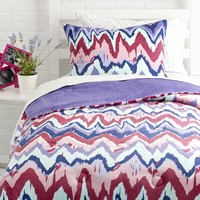 Paintica Chevron Comforter Set