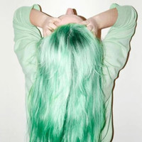 "22"" Mint Green Clip In Hair Extension"