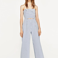 CUT-OUT BOATNECK JUMPSUIT