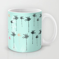 Tropical Palm Dreams  Mug by Sunkissed Laughter