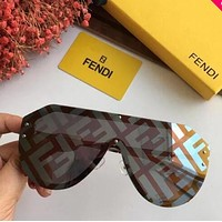 FENDI Fashion Women Men Personality Shades Eyeglasses Glasses Sunglasses