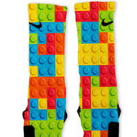 Toy Bricks Custom Nike Elite Socks