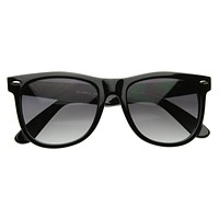 Retro Large Horned Rim Classic Sunglasses 2374 54mm