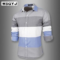 Fashionable Shirt With Long-Sleeves / Casual Dress Shirt