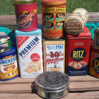 Vintage13PCS  1970s-1980s Convention of The Tin Container Collectors Association