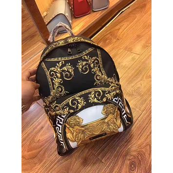 VERSACE NEW STYLE LEATHER BACKPACK BAG