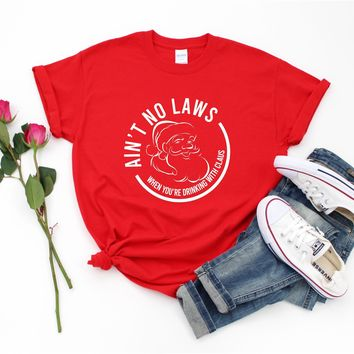 Ain't No Laws - Tee  - Ruffles with Love - Tee