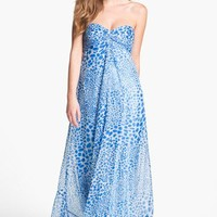 Laundry by Shelli Segal Print Chiffon Gown | Nordstrom