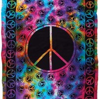 """Peace 72"""" x 108"""" Tapestry"""