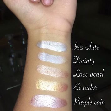 Liquid highlighters by JS cosmetics