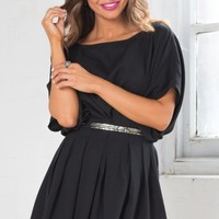 In To The Night Dress in Black