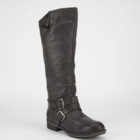 Madden Girl Legacie Womens Boots Black Paris  In Sizes