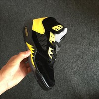 "Air Jordan 5 Retro ""Oregon"" Black/Yellow"