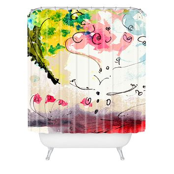 Ginette Fine Art Etude Number 2 Shower Curtain