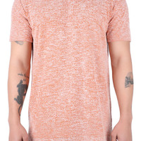 The Colin Short Sleeve Terry Tee in Tang