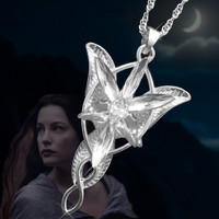 Hot Film Lord Of The Rings Hobbit Elves Princess Aragorn Arwen Evenstar Pendant Twilight Star Pendant Movie Jewelry Zpylr