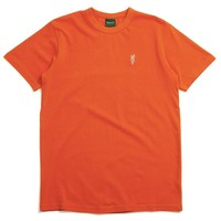 Carrots One Point Knit T-Shirt Orange