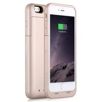 High capacity 3000 to 10000 mAH Power case for iphone 6 plus / 6s plus 5.5 inch cell phone case external battery charger power bank