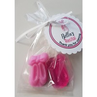 Ballet Recital Favors - Personalized Tags Ballet Slipper Birthday Party Favors for girls party or baby shower favors - Pack of 10