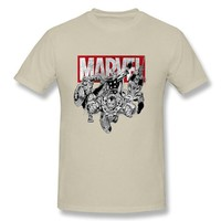 Anime T-shirt graphics Funny Anime T Shirts Men Summer Avengers T-Shirt High Quality Marvel Short Sleeve Adult Tops AT_56_4