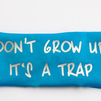 "Yoga Headband,""Don't Grow up It's a Trap"", Plain headband, Fitness headband, Workout Headband, Running Headband, Nonslip Headband Women Girl"