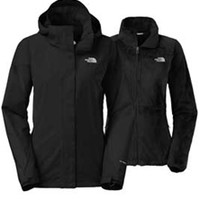 Gliks - The North Face Boundary Triclimate Jacket for Women in Black