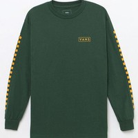 DCCKYB5 Vans Checkmate Long Sleeve T-Shirt