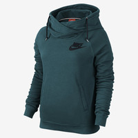 NIKE RALLY FUNNEL NECK PULLOVER