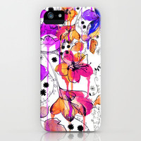 Lost in Botanica iPhone Case by Holly Sharpe