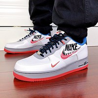 Air Force 1 Script Swoosh Trending Women Men Casual Sport Running Shoes Sneakers