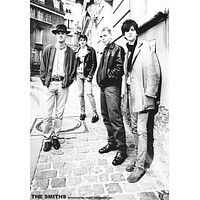 The Smiths Montmartre Paris 1984 Poster 24x33